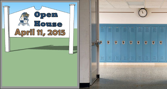 Open House – April 11th from 10:00 a.m. to 12:00 p.m.