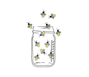 lightning bug jar